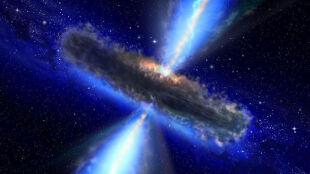Odkryto monstrualną czarną dziurę. Słońce przy niej to ziarenko