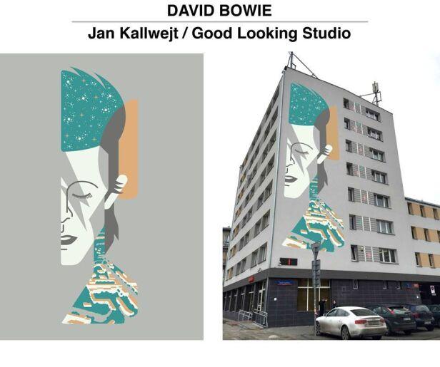 Projekt: Jan Kallwejt Stacja Muranów