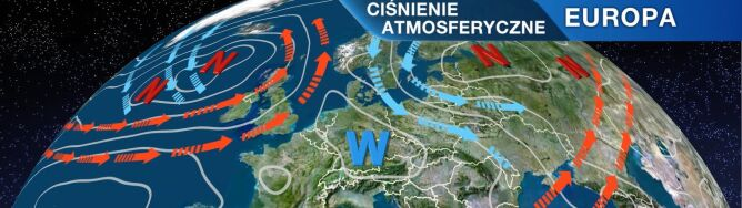 Niż znad Zatoki Fińskiej sprowadzi chłodne masy powietrza