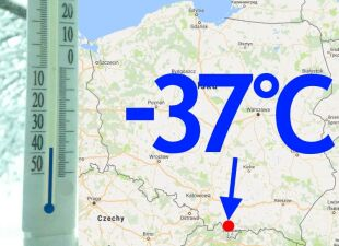 -37 st. C! Dziś rano w Polsce