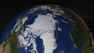 Pokrywa lodowa Arktyki się kurczy