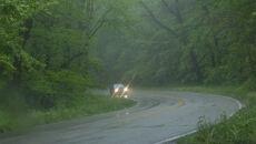 10 l/mkw. deszczu na drogach. Kierowcom będzie też sennie