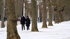 Zima w Wielkiej Brytanii (PAP/EPA/ANDY RAIN)