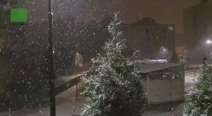 Śnieg w Chorzowie