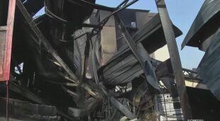 Wiele budynków jest zniszczonych