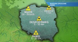 Warunki drogowe na czwartek 15.04